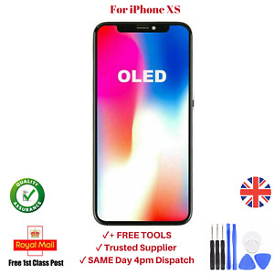 For iPhone XS OLED Screen LCD Touch Assembly Replacement Display UK Digitizer