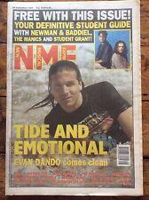 NME 25/9/93 Evan Dando cover, Free Student Guide, Depeche Mode, Gram Parsons