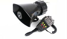 For Car Auto Truck Loud Speaker Horn Siren Police Ambulance Fire Alarm 5 Sounds
