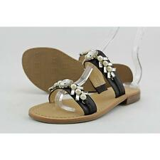 Ivanka Trump Pinta Women US 6 Black Slides Sandal Pre Owned  1570