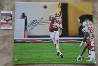 MAC JONES AUTOGRAPH SIGNED ALABAMA 16X20 PHOTO #1 INCLUDES JSA