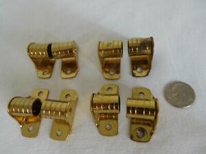 "CHOICE Lot of 2 to 5 pr pair Kirsch BARREL BRACKETS 3/8"" rod I.S O.S Gooseneck"