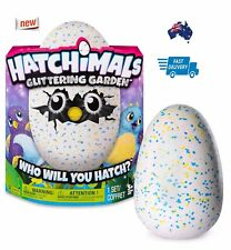 HATCHIMALS Glittering Garden SHIMMERING DRAGGLES Hatching Egg Pet by Spin Master