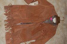 "Vintage ""califorian"" fringed coat by California Sportswear Company size 40"