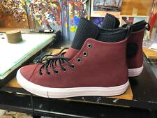 Converse CTAS WP Boot HI Dark Burgundy Size US 11.5 Men 162410C New Chuck Taylor