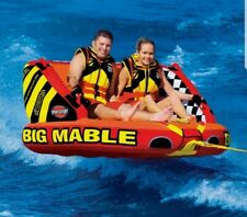 New listing Towable Tube Boat Sportsstuff Big Mable 1 to 2 Rider Boating w Dual Tow Points