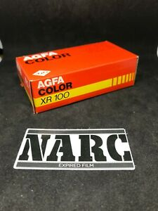 Agfa XR 100 24 exp 126 film expired fuji kodak agfa pocket lomo