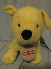 PLUSH Yellow PUPPY DOG ARI 2003 FISHER PRICE