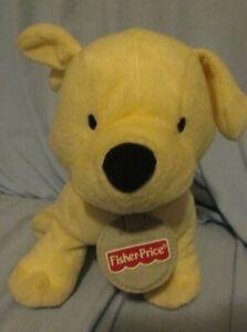 PLUSH Yellow PUPPY DOG ARI 2003 FISHER PRICE