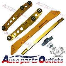 GOLD Honda Civic1992-1995 EG  Rear Lower Control Arm Subframe Brace Tie Bar