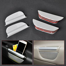 4PCS Chrome Door Handle Armrest Storage holder For Ford Escape Kuga 2013 2014-15