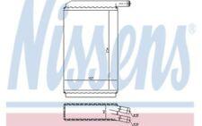 NISSENS Radiador de calefacción VOLKSWAGEN GOLF PASSAT SCIROCCO AUDI 80 73940