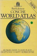 Concise ATLAS MONDIAL, John Bartholomew et fils