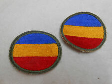 VINTAGE TWO ARMY UNIT PATCHES