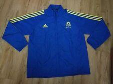 Boston Marathon 2013 BAA adidas ClimaProof Blue Running jacket men's size-XL New