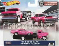 HOT WHEELS 2020 TEAM TRANSPORT'68 DODGE DART / HORIZON HAULER PRE-ORDER
