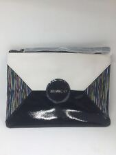 BNWT MIMCO MEDIUM MIM POUCH WALLET SPORTO MATT BLACK
