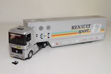 N LBS ELIGOR RENAULT MAGNUM TRUCK WITH TRAILER RENAULT SPORT F1 NMINT CONDITION