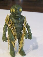 Vintage Star Wars Green monster figurine alien science fiction
