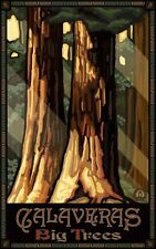 Northwest Art Mall Calaveras Big Trees Artwork by Paul A. Lanquist, 11-Inch by 1