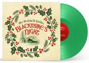 """Blackmore's Night - Here We Come A-Caroling - New Green Vinyl 10"""" EP"""