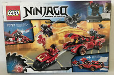 LEGO Ninjago X-1 Ninja Charger (70727) Complete!