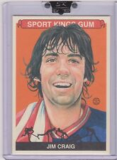 AWESOME 2010 SPORT KINGS JIM CRAIG CARD #167 ~ 1980 US OLYMPIC GOLD MEDAL HOCKEY