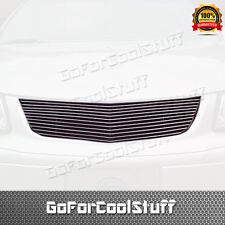 For Chevy Chevrolet Impala 2000-2005 Upper Billet Grill Grille Insert