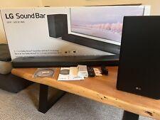 LG SK9Y 5.1.2 Dolby Atmos® Soundbar, 500 Watt, drahtloser Subwoofer, Schwarz