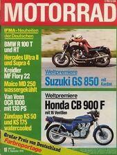 M7818 + Test BMW R 45 mit 27/35 PS + Test MOTO MORINI 500 M + MOTORRAD 18/1978