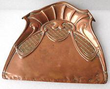Vintage crumb catcher tray Joseph Sankey Solid copper Art Nouveau pre WWI