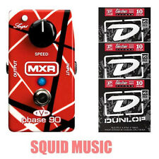 MXR EVH Eddie Van Halen Phase 90 Pedal EVH90 (3 SETS OF DUNOP GUITAR STRINGS)