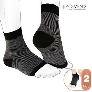 Pedimend Plantar Fasciitis Compression Socks for Arch Support, Edema, Heel Pain