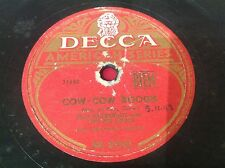 78 rpm ELLA FITZGERALD with the INK SPOTS - COW COW BOOGIE - DECCA BM 03503