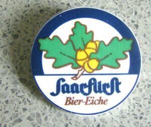SAARFÜRST MERZIG-BIER EICHE-alter Button-kein Pin-sehr alt,sehr rar-ca:5 cm-TOP-