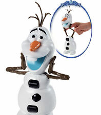 NEW-DISNEY FALL OVER OLAF TOY WITH 10 SOUNDS & PHRASES-BATTERIES INCLD P&P FREE