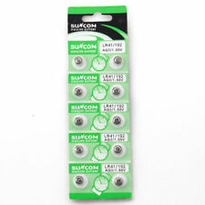 100X AG3 LR41 LR192 ALKALINE BUTTON COIN CELL WATCH BATTERIES SUNCOM  Battery