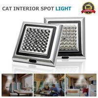 2x 12V 42 LED Interior Ceiling Cabin Spot Light For Caravan Camper Boat Light AU