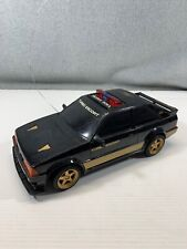 Vintage Nikko 1985 Ford Escort Turbo Highway Patrol R/C Car NO REMOTE CLEAN