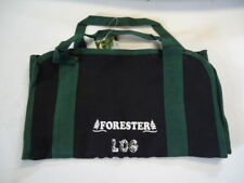 "Heavy Duty 32"" Long X 15"" Wide Firewood Bag Log Carrier Canvas Double Stitched"