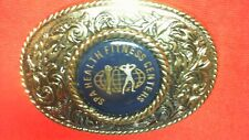 Collectible Metal  Belt Buckle SPA HEALTH FITNESS CENTERS TU1