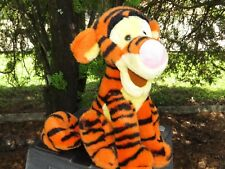 """Disney Winnie The Pooh 11"""" Tigger w/10"""" Coiled Tail Plush Stuffed Toy Low Price"""