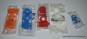Rare Captain Crunch Glow In The Dark Globes Cereal Toy & 4 others SEALED!