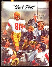 September 30 1950 NCAA Football Program WSC vs UCLA VG
