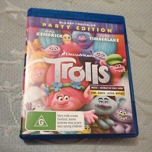 Blu-Ray TROLLS Party Edition Dreamworks