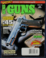 Magazine *GUNS* August 2000 DAN WESSON .414 SuperMag & .460 Rowland REVOLVERS