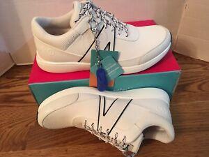 New TRAQ By ALEGRIA Qarma Women's White Walking Shoes 37 EU