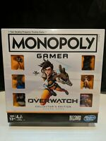 Monopoly Gamer: OVERWATCH Collector's Edition Board Game New/Sealed