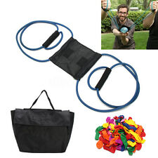 AU Water Balloon Launcher With Carry Case & Balloons Extreme Launcher Slingshot