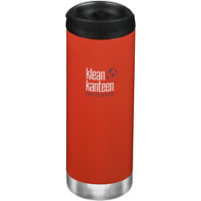 Klean Kanteen TKWide 473ml Insulated Bottle Stainless Cafe Cap Post Box Red